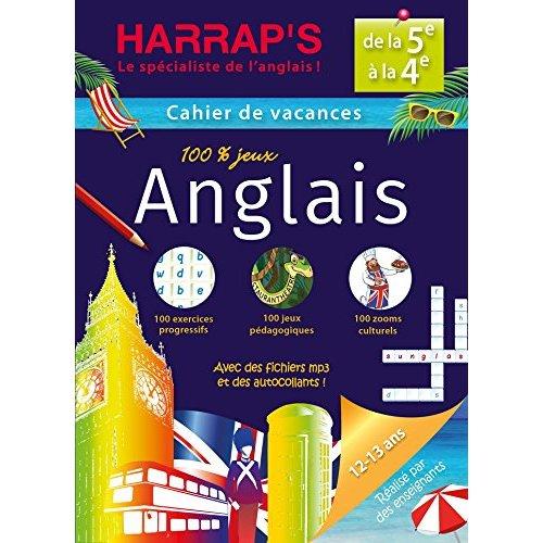 HARRAP'S CAHIER DE VACANCES ANGLAIS 5EME/4EME