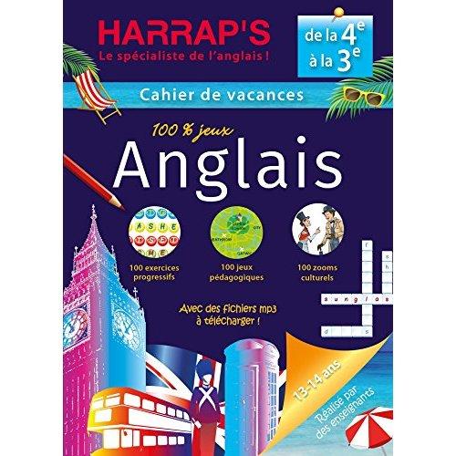 HARRAP'S CAHIER DE VACANCES ANGLAIS 4EME/3EME