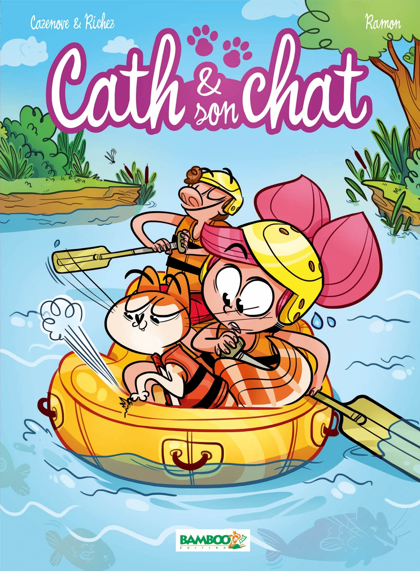 CATH ET SON CHAT - TOME 3