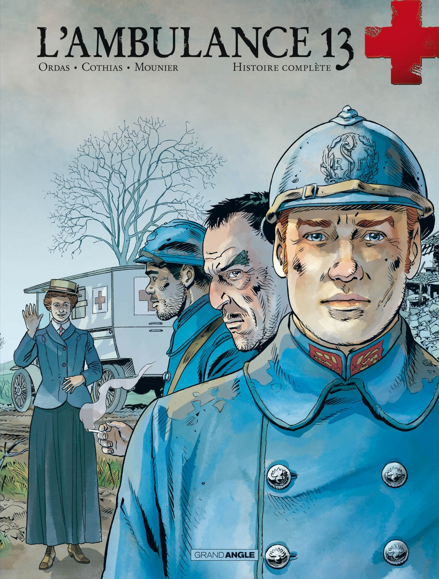 L'AMBULANCE 13 - INTEGRALE VOLUMES 3 ET 4