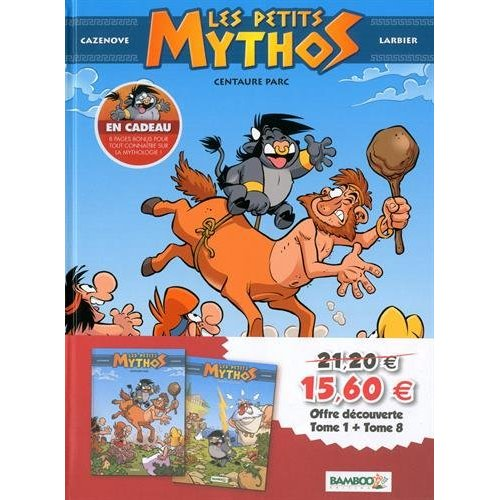 LES PETITS MYTHOS - STARTER PACK TOMES 1 ET 8