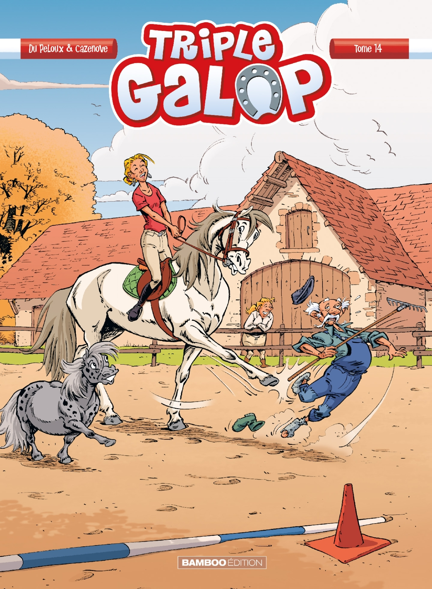 TRIPLE GALOP - TOME 14
