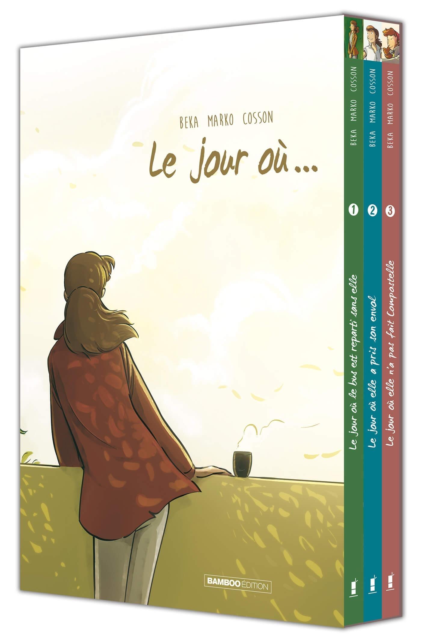 LE JOUR OU LE BUS REPARTIT SANS ELLE - LE JOUR OU ... COFFRET T1-T2-T3