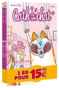 CATH ET SON CHAT - PACK DECOUVERTE T1 - T2