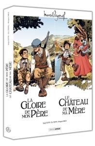 M. PAGNOL EN BD : ECRIN LA GLOIRE DE MON PERE/LE CHATEAU DE MA MERE NED
