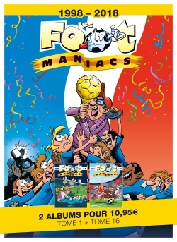 LES FOOT MANIACS - T16 + T1 OFFERT