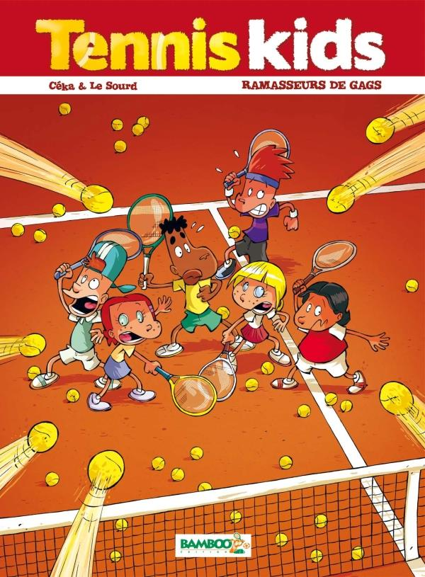 TENNIS KIDS - TOME 1 - NOUVELLE EDITION