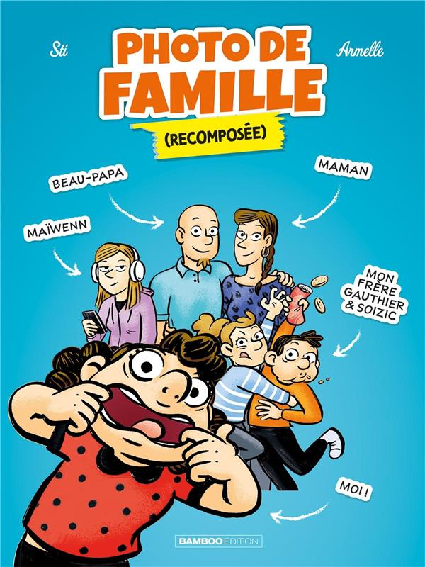PHOTO DE FAMILLE (RECOMPOSEE) - TOME 01