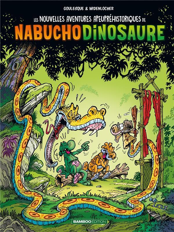 LES NOUVELLES AVENTURES APEUPREHISTORIQUES DE NABUCHODINOSAURE - TOME 04