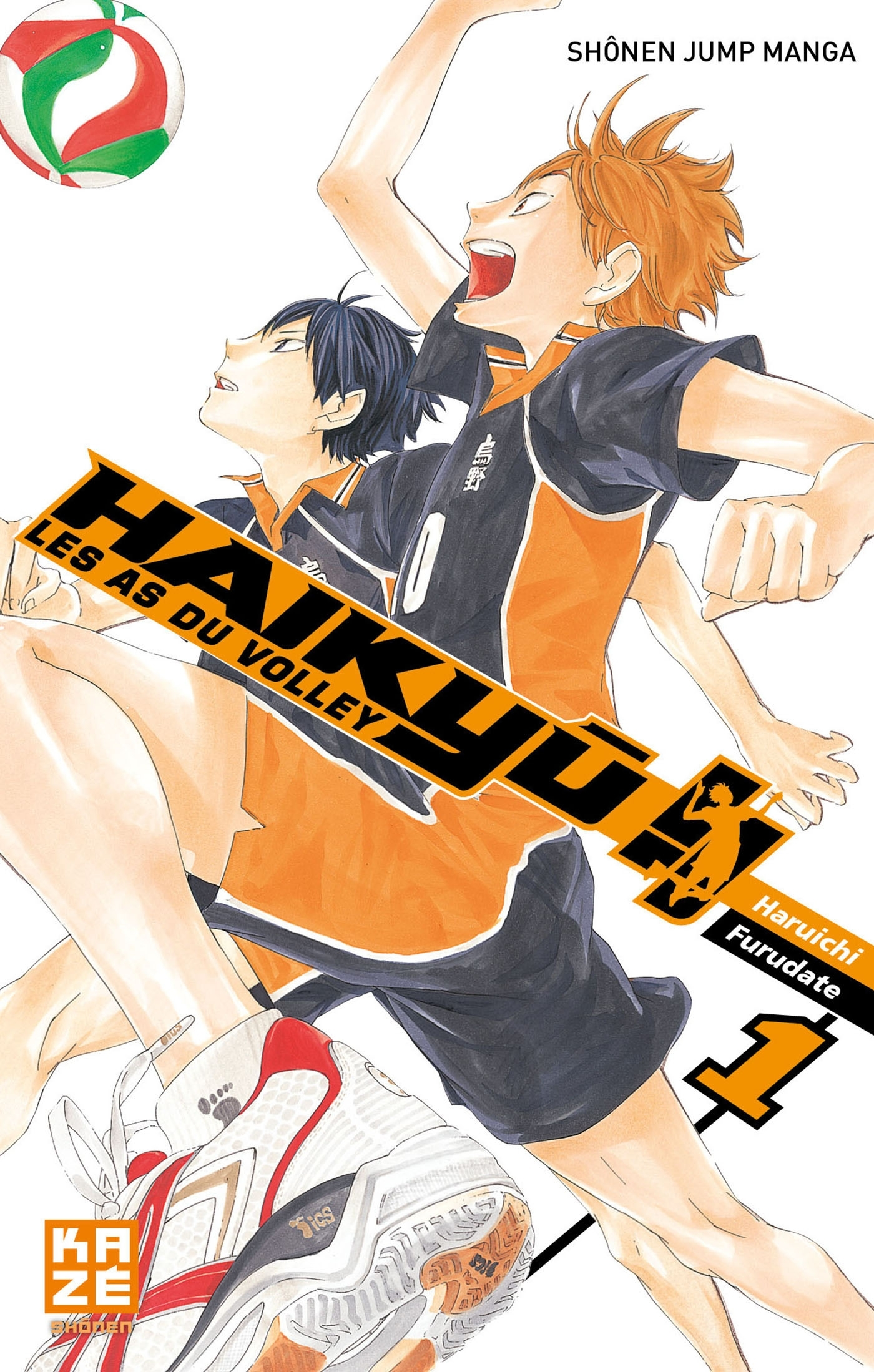 HAIKYU !! - LES AS DU VOLLEY T01