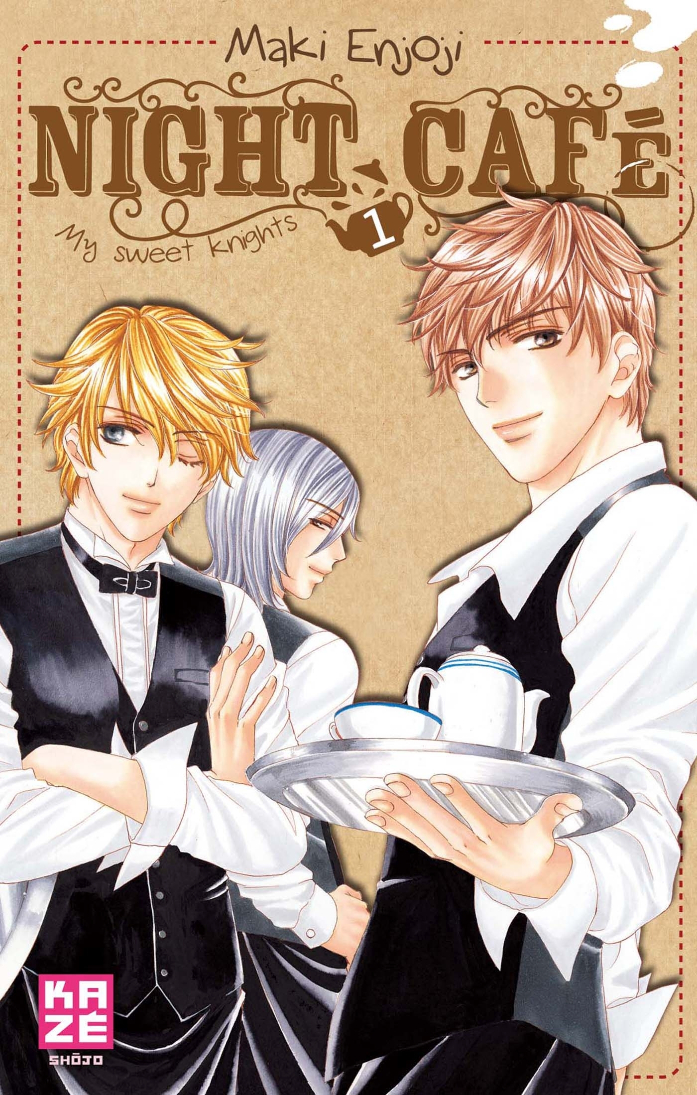 NIGHT CAFE - MY SWEET KNIGHTS T01