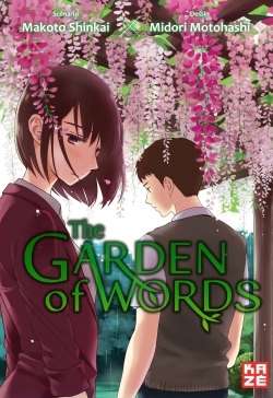 GARDEN OF WORDS - MANGA
