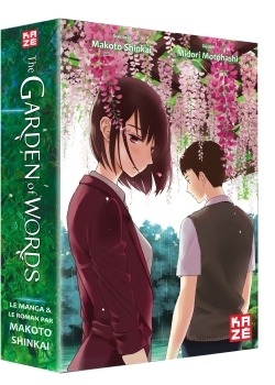 GARDEN OF WORDS COFFRET MANGA+ROMAN