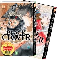 BLACK CLOVER - PACK DECOUVERTE T01 & T02