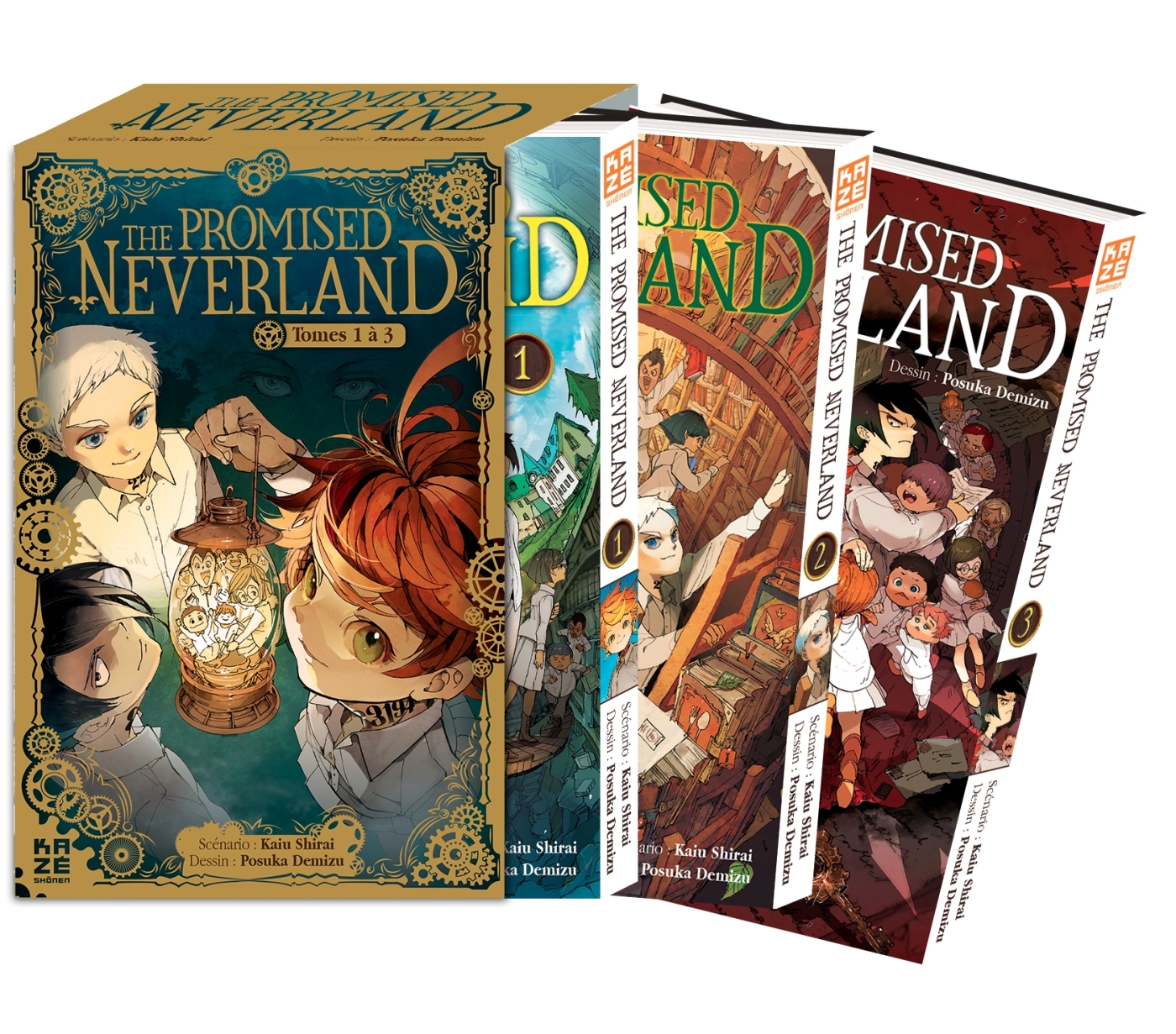 THE PROMISED NEVERLAND - PACK T01 A T03