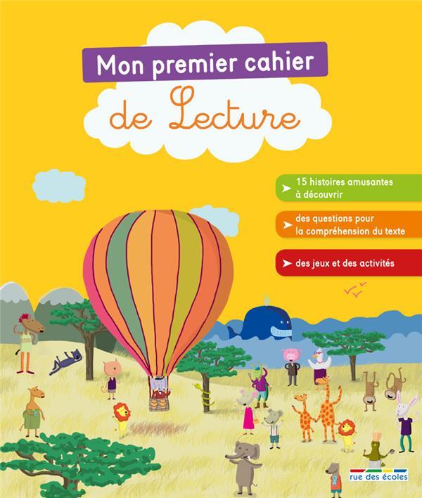 PREMIER CAHIER DE LECTURE (MON)