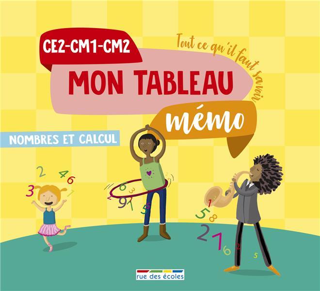 TABLEAU MEMO NOMBRES ET CALCUL CE2-CM1-CM2 (MON)
