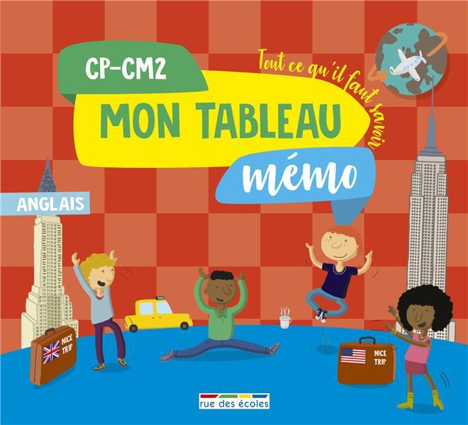 TABLEAU MEMO ANGLAIS CP-CM2 (MON)