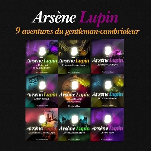 ARSENE LUPIN  9 AVENTURES DU GENTLEMAN CAMBRIOLEUR