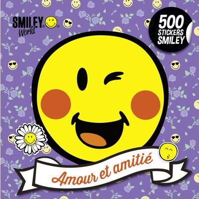 500 STICKERS SMILEY - AMOUR ET AMITIE
