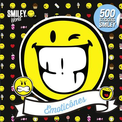 500 STICKERS SMILEY - EMOTICONES