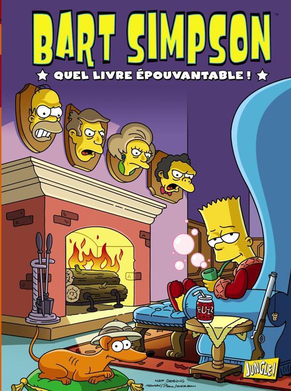 BART SIMPSON T4 QUEL LIVRE EPOUVANTABLE !
