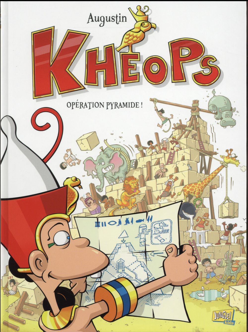 KHEOPS T1 OPERATION PYRAMIDE