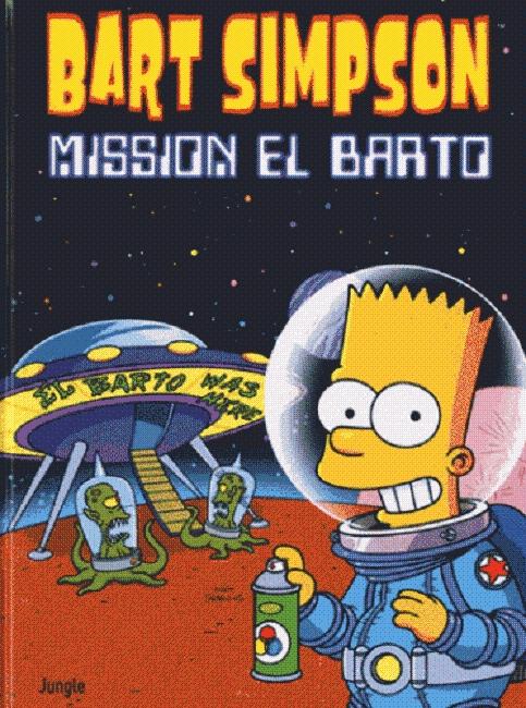 BART SIMPSON T16 - MISSION EL BARTO