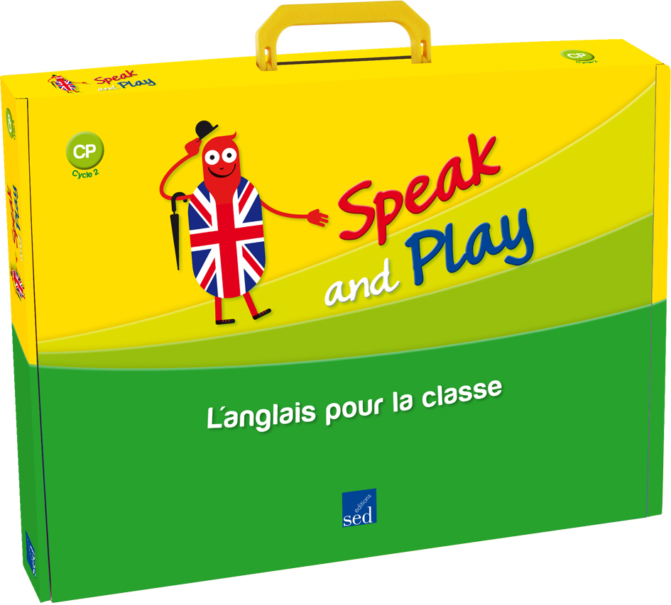 SPEAK AND PLAY CP : FICHIER RESS+FLASHCARDS+POSTERS+STORYTIME+CD