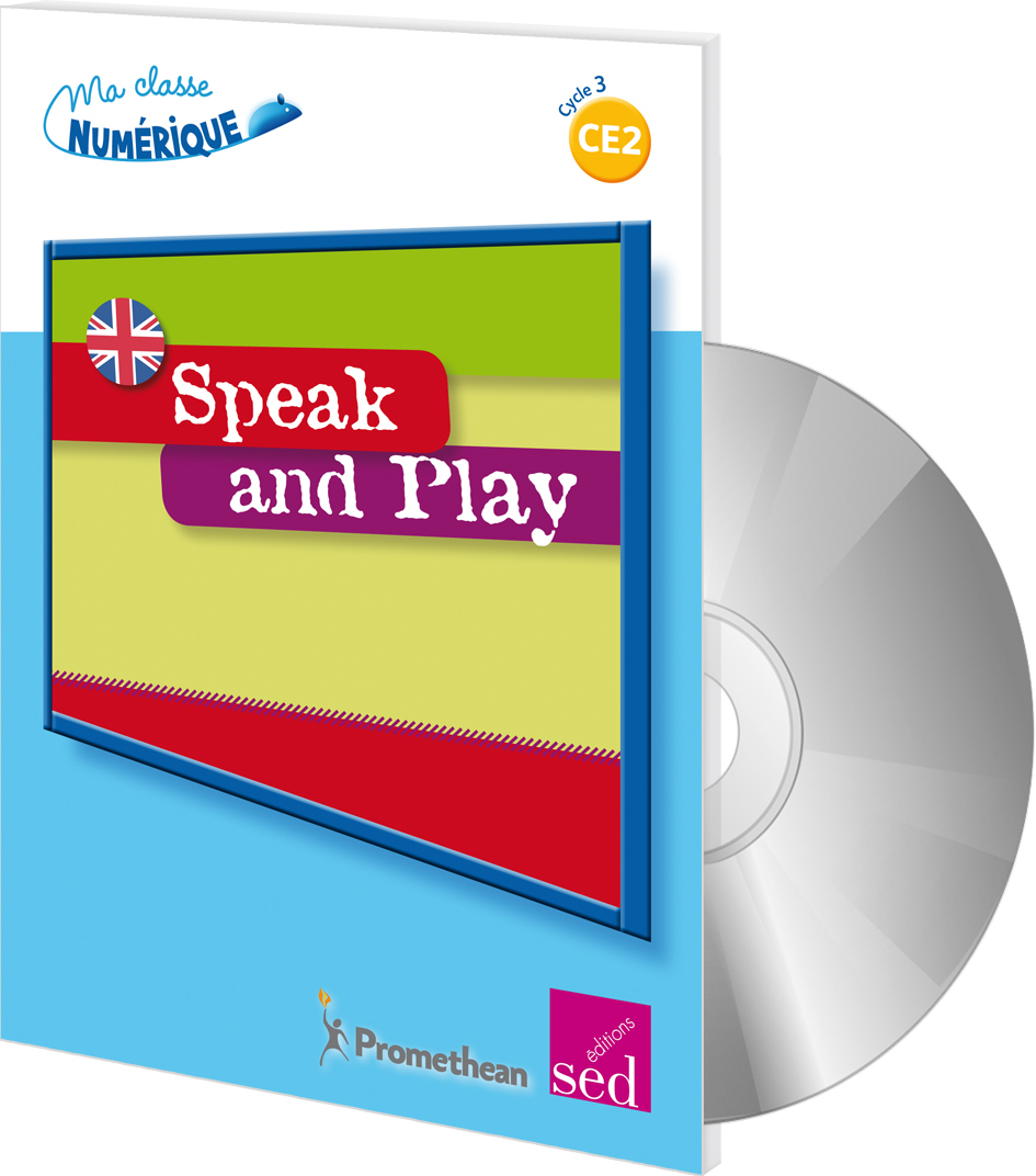 SPEAK AND PLAY (MALLETTE + CD ROM) CE2