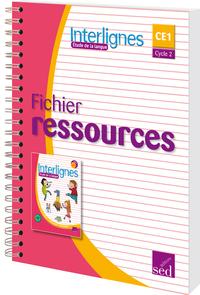 INTERLIGNES ETUDE DE LA LANGUE-FICHIER RESSOURCES EDITION 2016
