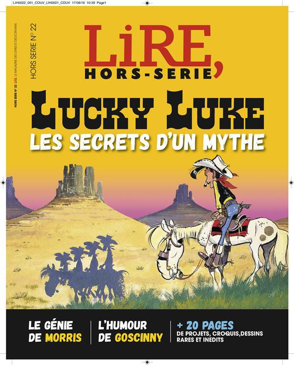 HORS COLLECTION LUCKY LUKE, LE GUIDE COMPLET