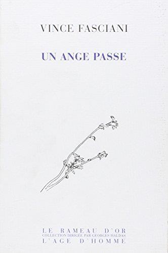 UN ANGE PASSE