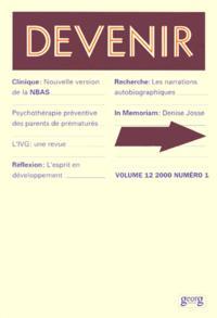 DEVENIR VOL 12 N 1 2000