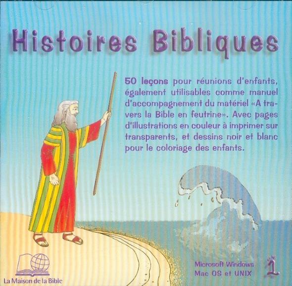 HISTOIRES BIBLIQUES N  1 CDROM