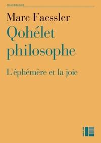 QOHELET PHILOSOPHE