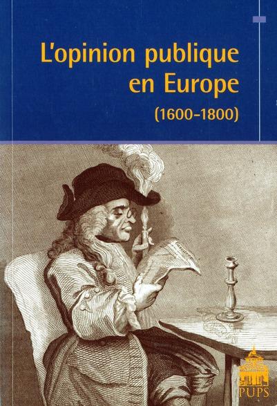 L'OPINION PUBLIQUE EN EUROPE