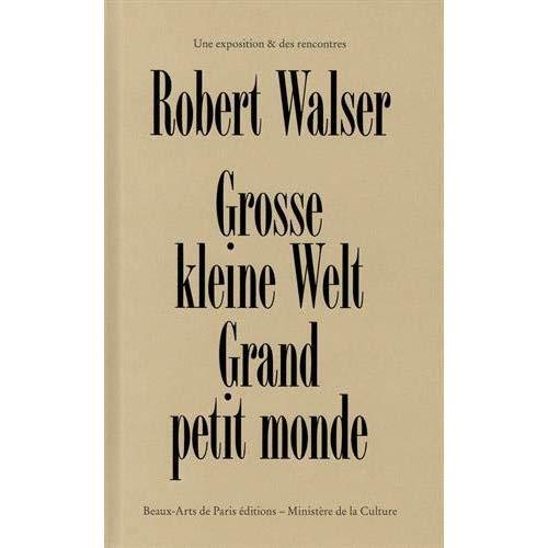 MARIE JOSE BURKI: ROBERT WALSER, ETUDE