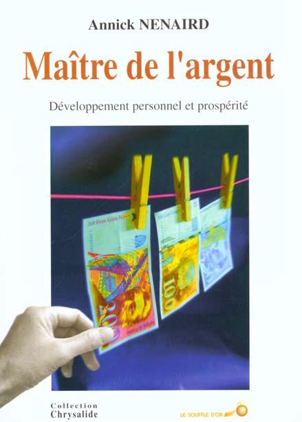 MAITRE DE L'ARGENT