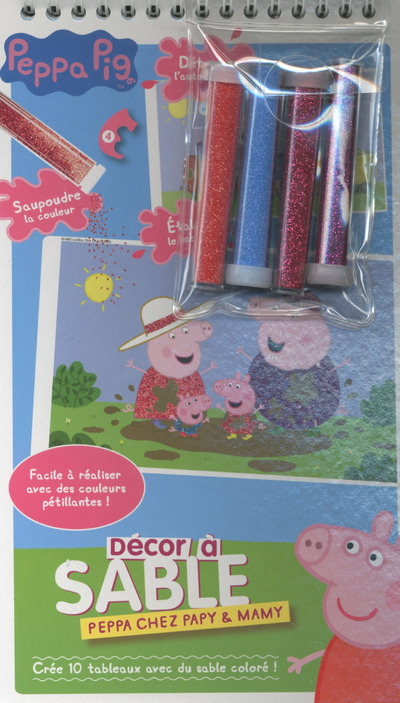 PEPPA CHEZ PAPY MAMY - DECOR A SABLE
