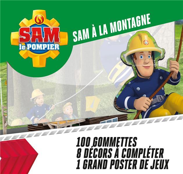 SAM A LA MONTAGNE - SAM LE POMPIER 100 GOMMETTES