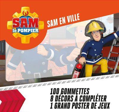 SAM EN VILLE - SAM LE POMPIER 100 GOMMETTES
