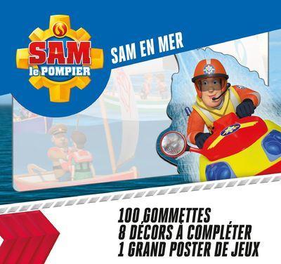 SAM EN MER - SAM LE POMPIER 100 GOMMETTES