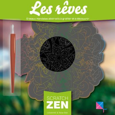 LES REVES - 6 BEAUX MANDALAS ABSTRAITS A GRATTER ET A DECOUVRIR