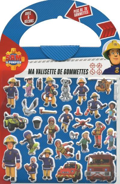 SAM LE POMPIER - MA VALISETTE DE GOMMETTES
