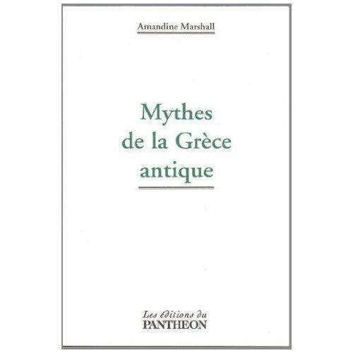 MYTHES DE LA GRECE ANTIQUE