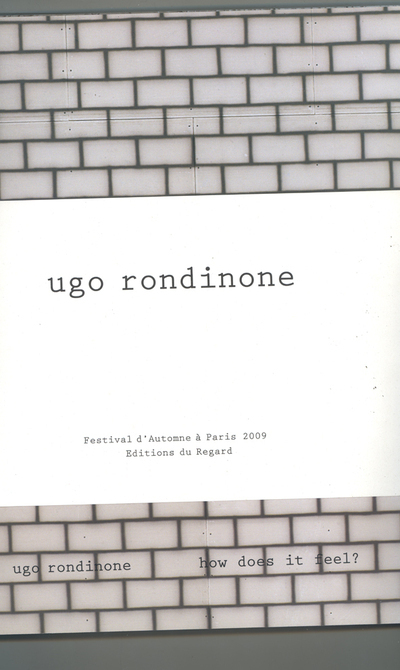 UGO RONDINE. HOW DOES IT FEEL ?