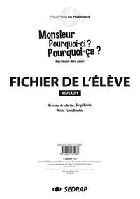 M. POURQUOI-CI POURQUOI-CA - FICHIER GS