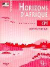 HORIZONS D'AFRIQUE FRANCAIS CP1  GUIDE PEDAGOGIQUE  CONGO