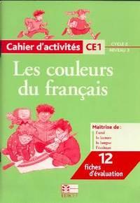 CAHIER  D'ACTIVITES CE1  CYCLE 2/NIVEAU 3